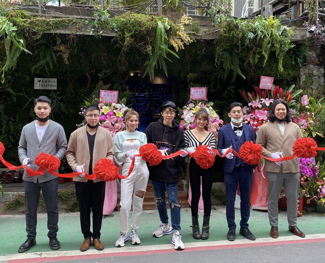 「WACKYBOYS反骨男孩」與餐飲業先進合作,宣布在台北東區成立「Arpai」...