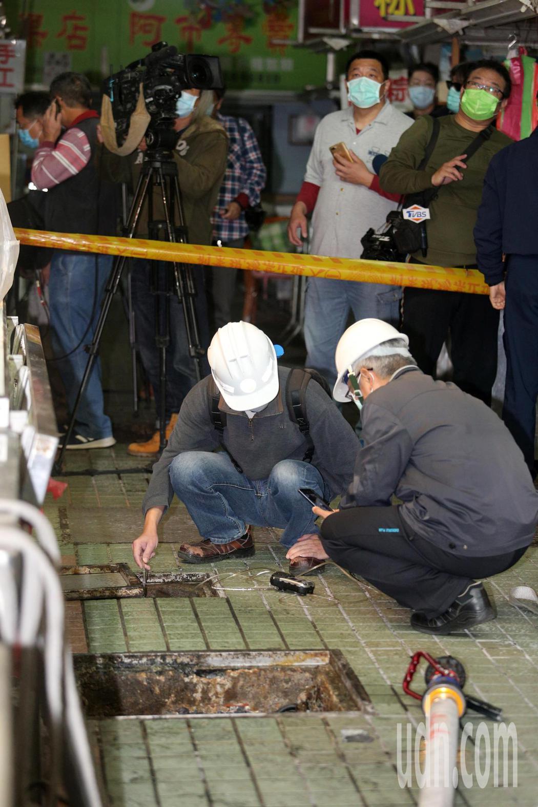 高雄市三民區中華三路上的三民市場內,今天上午9點多時,傳出有3位工人沼氣中毒狀況...