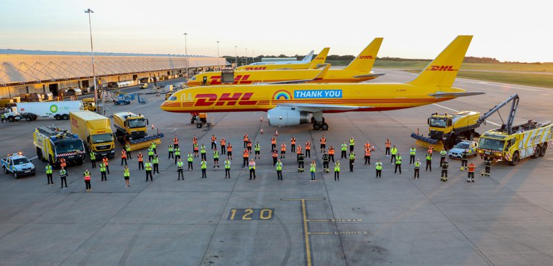 DHL國際快遞已連續七年被公認為2021年亞太區最佳雇主(Top Employer)。 圖/DHL提供