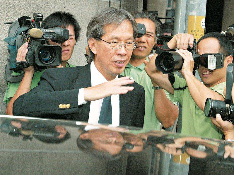 黃芳彥(圖)在扁案中涉嫌替吳淑珍藏匿11顆裸鑽,總值4700萬元。圖/聯合報系資料照片