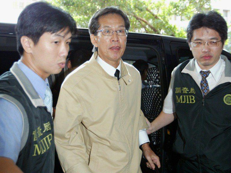 涉及扁家洗錢案的新光醫院前副院長黃芳彥(中)在美傳出持槍自盡。圖/聯合報系資料照片