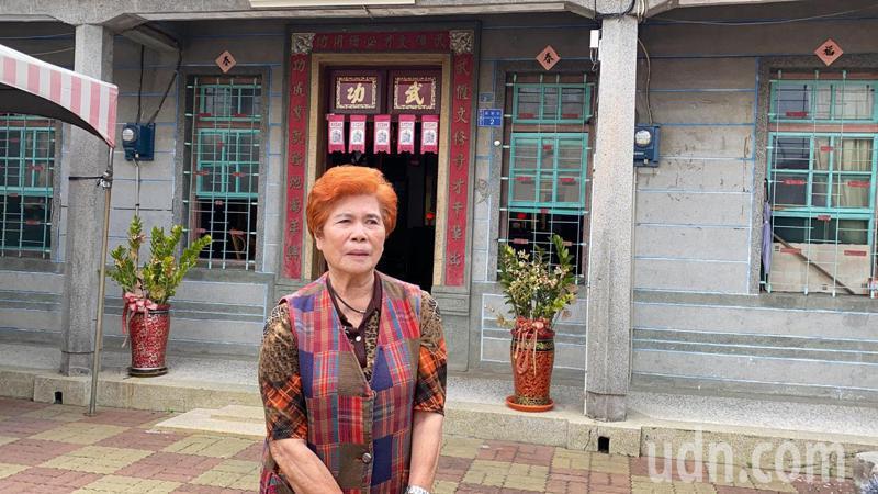立委蘇震清今天中午裁定一千萬交保,消息傳至蘇屏東老家,蘇母表示,兒子回來就好了。記者陳弘逸/攝影