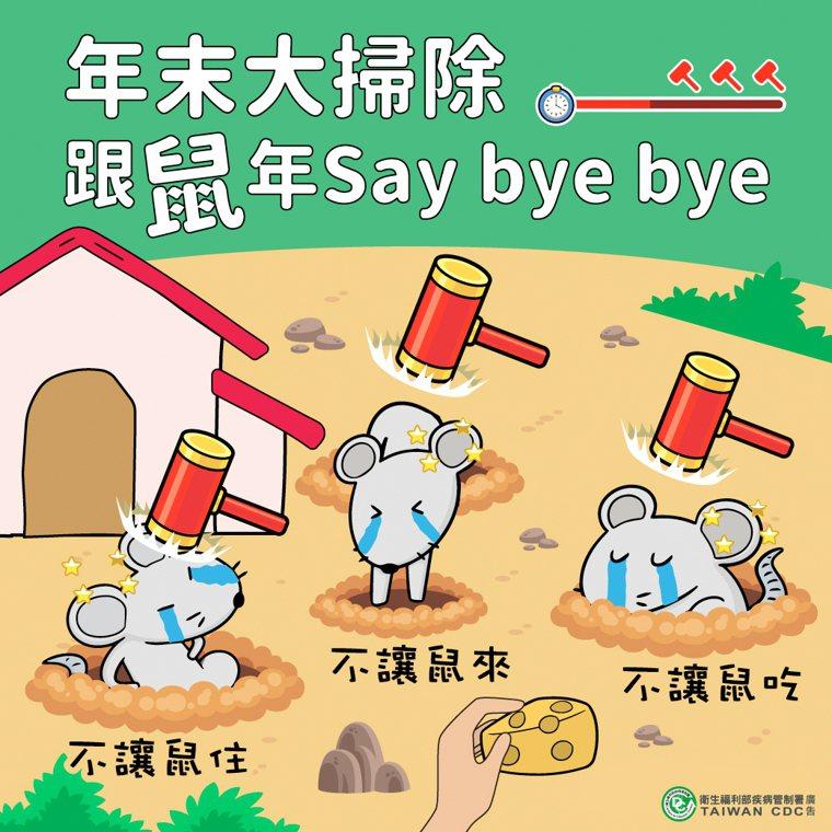 疾管署副署長莊人祥呼籲,「不讓鼠來、不讓鼠住、不讓鼠吃」,是預防漢他病毒最有效的...