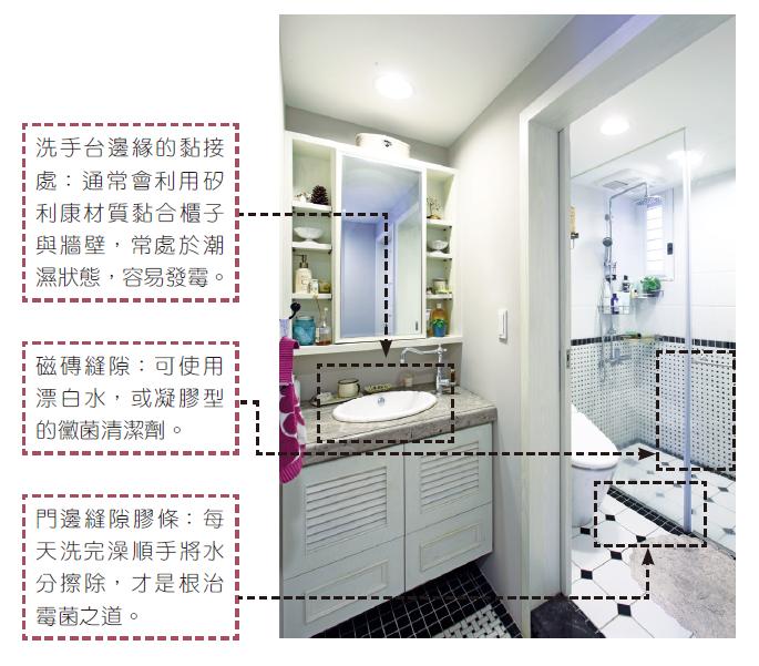 清掃洗手間。圖/采實文化 提供
