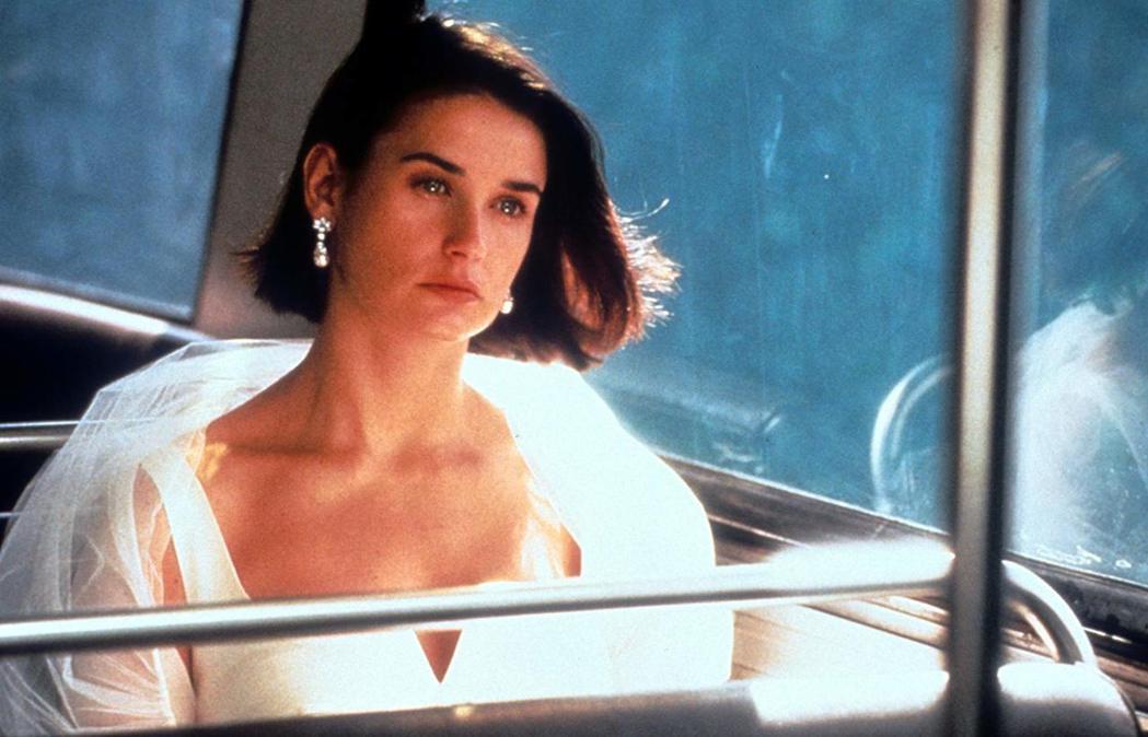 黛咪摩兒年輕時美貌出眾,在「桃色交易」演出精湛。圖/摘自IMDb