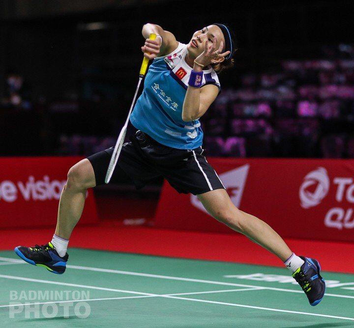 戴資穎擊敗泰國一姊依瑟儂,第5度晉級年終賽四強賽。圖/Badminton Photo提供