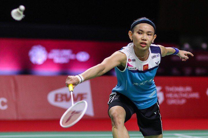 戴資穎擊敗泰國一姊依瑟儂,連續兩年晉級年終賽四強賽。 圖/Badminton Photo提供