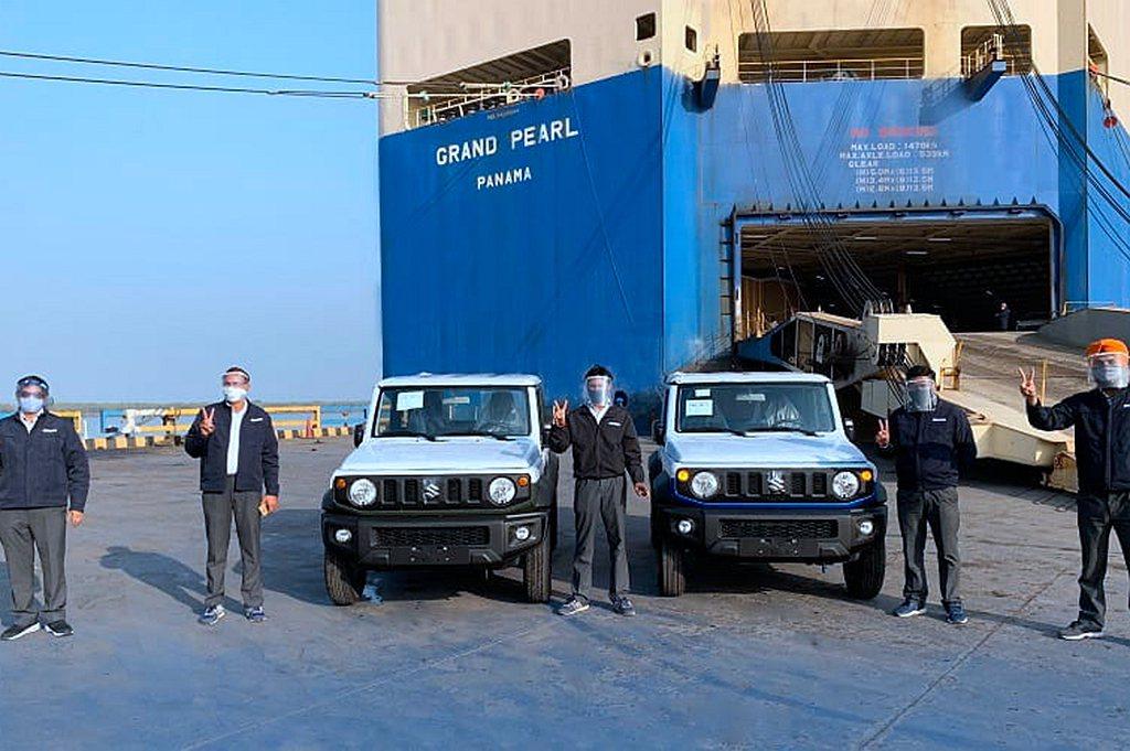 為紓解大量的新車訂單,日本Suzuki於印度生產Jimny小型越野車並出口到其他...