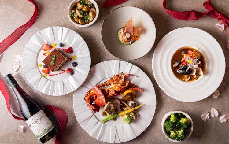 TOSCANA情人節限定饗宴。圖/台北西華飯店提供