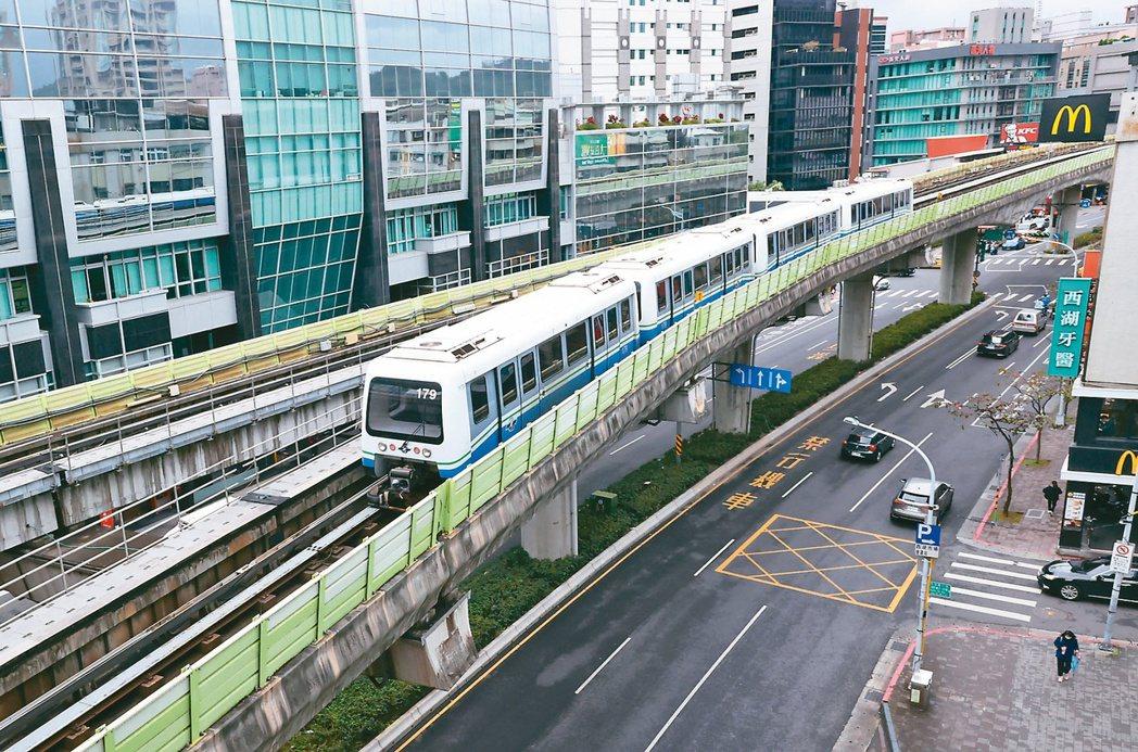 不論買房或租房,許多人都希望能住離捷運站近一點,圖為台北捷運。圖/聯合報系資料照...