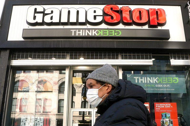 華裔青年亞伯特用八千美元購入一千股「遊戲驛站」(Gamestop)股票,不到一個月就升值為近卅三萬美元;圖為紐約市的一家遊戲驛站店面。(路透)