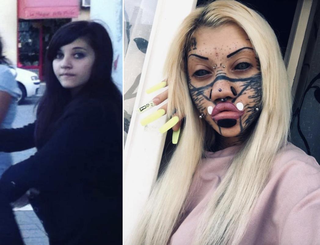義大利一名年僅19歲的少女從小就著迷於自己的身體,並從此試圖將自己變成「芭比娃娃