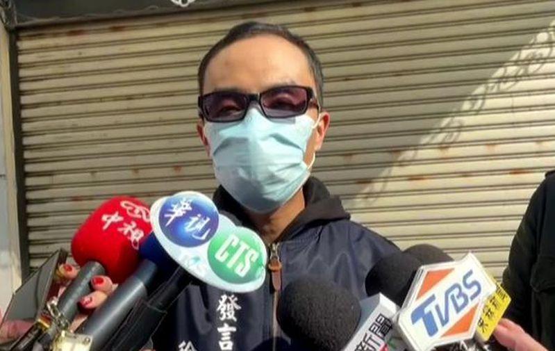 高雄市罷捷總部發言人徐尚賢批黃捷,昨天沒有針對反萊豬議題做更多說明,反而占了領銜人的便宜。記者楊濡嘉/攝影