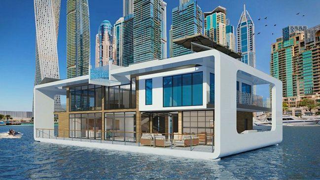 全世界最奢華的水上住宿之一——杜拜碼頭旁的海上皇宮(Sea Palace)(Ph...