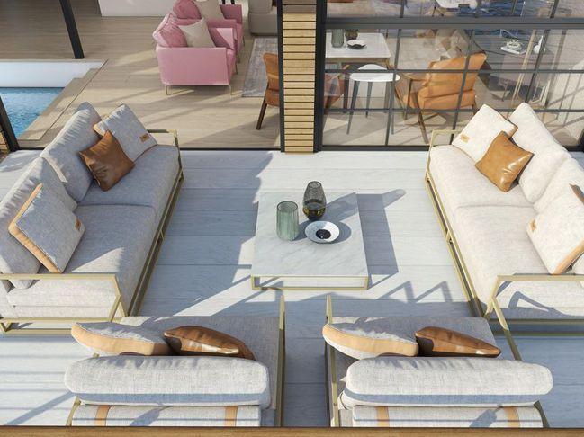 Sea Palace 以「環保」為出發點,該酒店將配備自動智能系統、自動消毒的空...