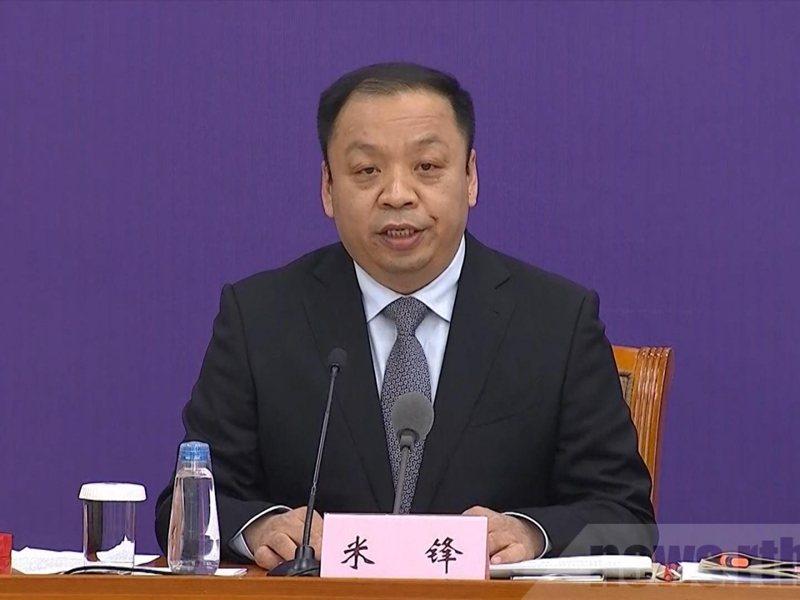 大陸國家衛健委新聞發言人米鋒。香港電台
