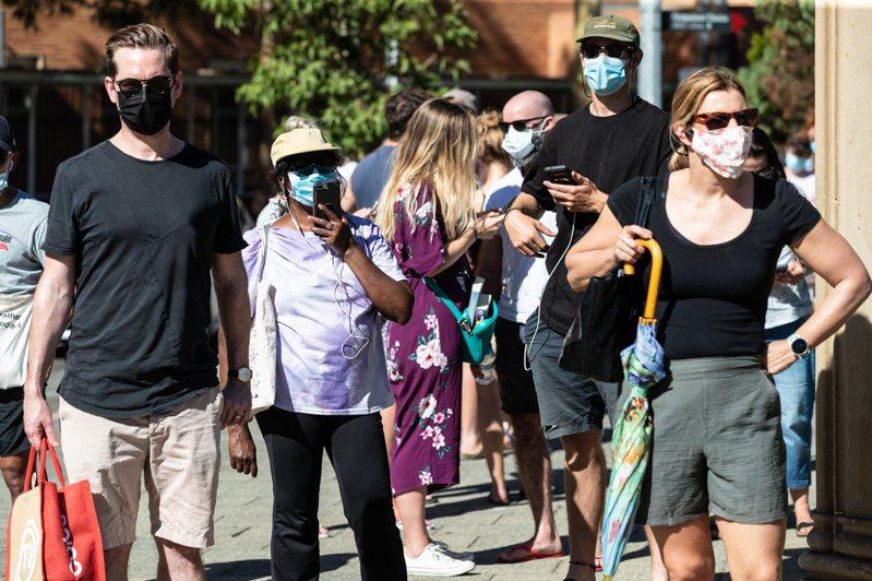 澳洲在因應新冠肺炎疫情方面表現傑出,社區傳播案例極少數。 歐新社