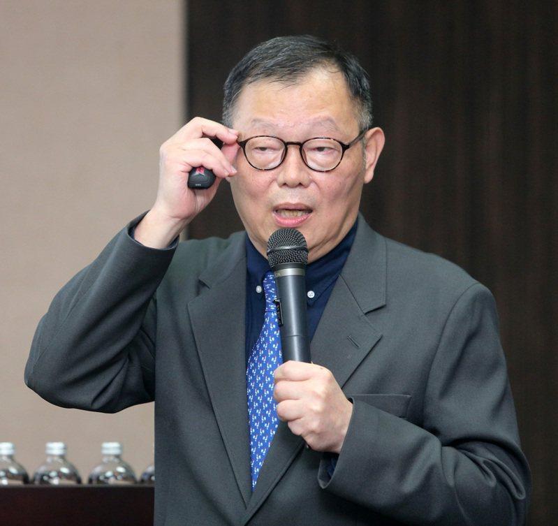 陽明交通大學首任校長林奇宏。圖/聯合報系資料照片