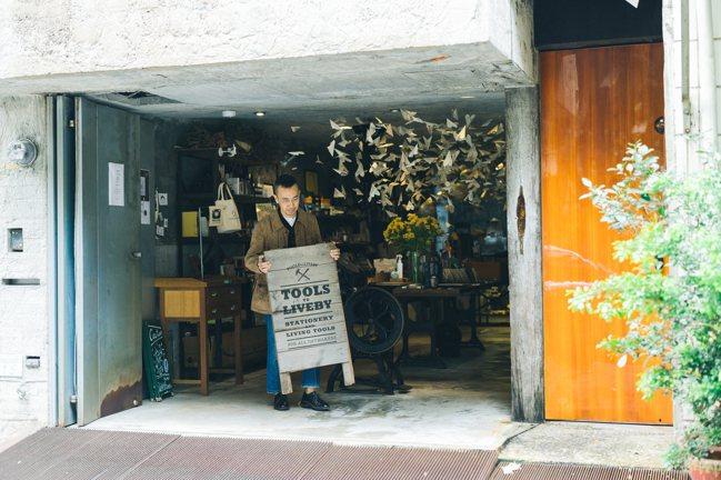 Marco期待透過禮拜文房具傳達更多美感和溫度給眾人。攝影/Jimmy Yang