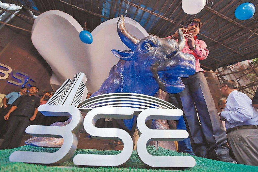 外資持續買超印度股市。(路透)