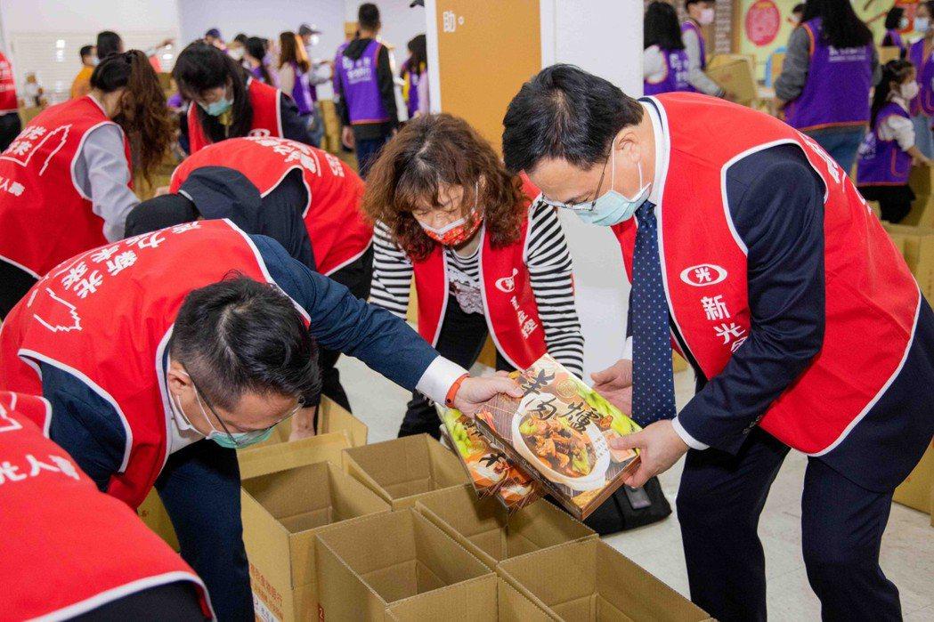 此次新光致贈的單位是安德烈慈善協會。圖片提供/新光人壽慈善基金會