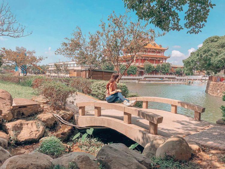 龍潭湖又名龍潭觀光大池,是桃園龍潭最著名的地標 圖/IG@angela_love...