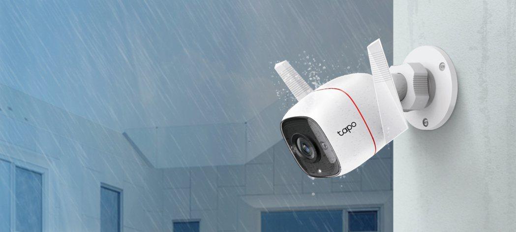 TP-Link Tapo C310本體具有IP66的防水防塵效果。 TP-Lin...