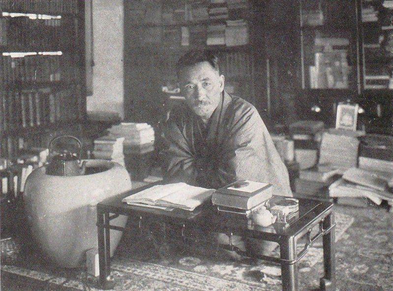 夏目漱石。(圖/Wikipedia)