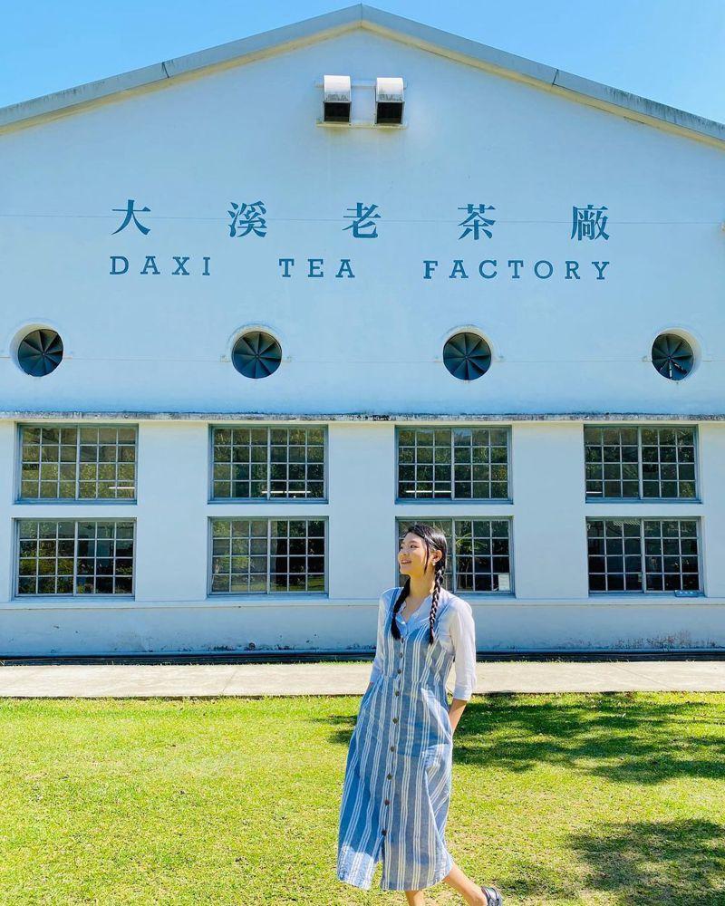 ▲北部過年走春景點-桃園大溪茶廠。(圖/lily_yunting, Instagram)