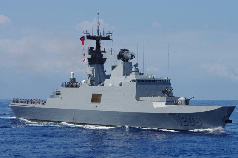 海軍康定級巡防艦。圖/取自海軍司令部官網