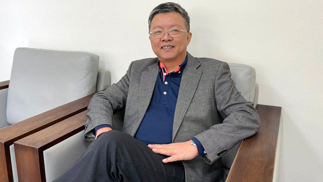 台鹽董事長陳啟昱。台鹽提供