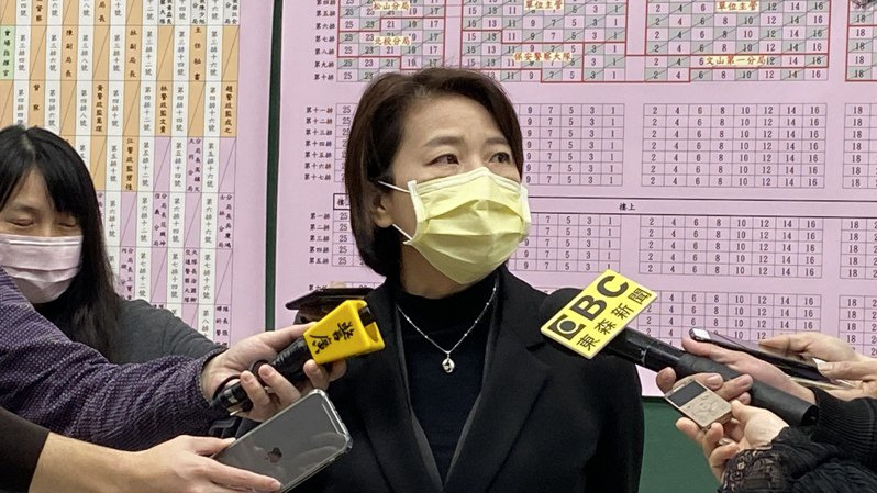台北市副市長黃珊珊今日出席台北市政府警察局卸新任分局長、大隊長聯合佈達交接典禮。記者潘才鉉/攝影