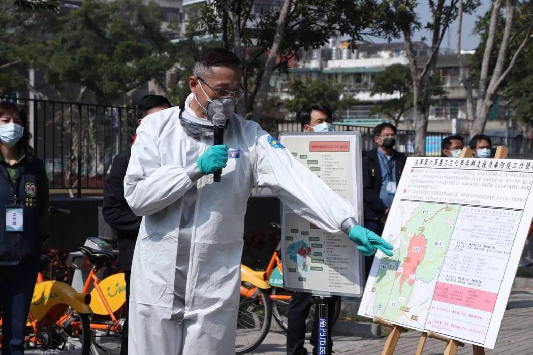 陸軍33化學兵上校指揮官龔龍峰,忙到連太太生產都沒有辦法趕到現場,總統蔡英文今天...