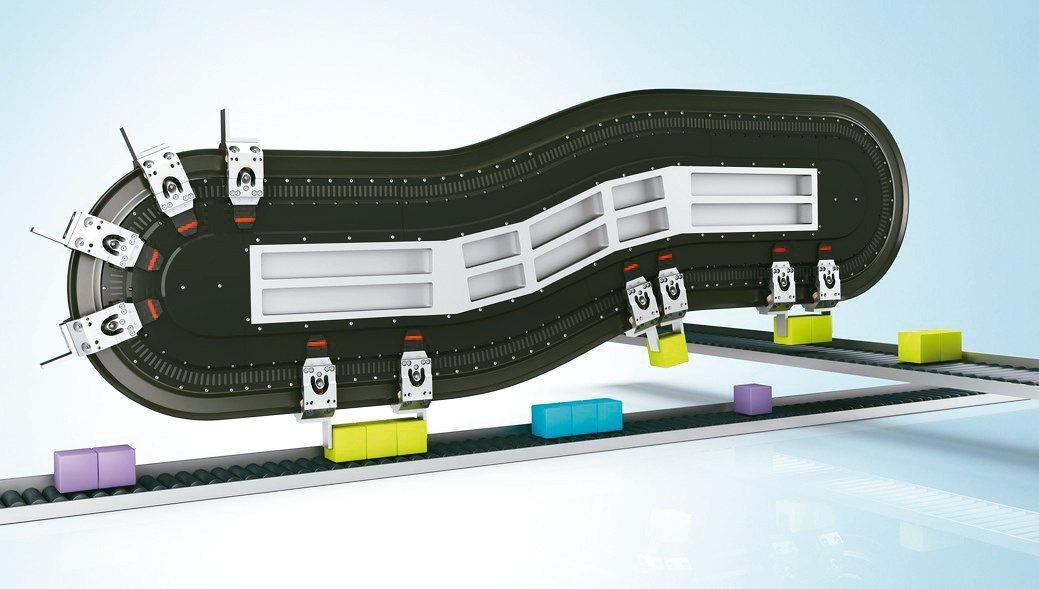 德商倍福Beckhoff「XTS磁懸浮輸送系統」可實現靈活生產,並支持各種規格、...