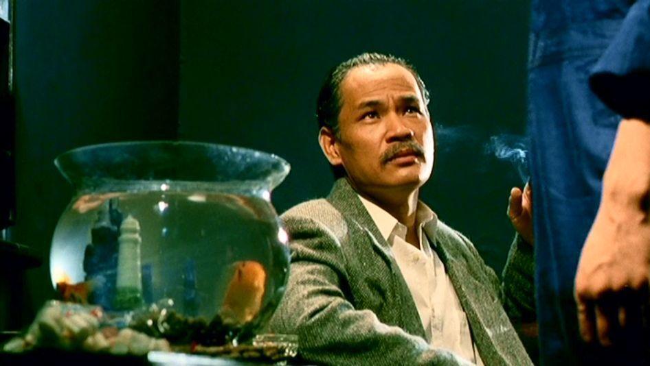 林聰在「英雄好漢」扮演幫派份子。圖/摘自HKMDB