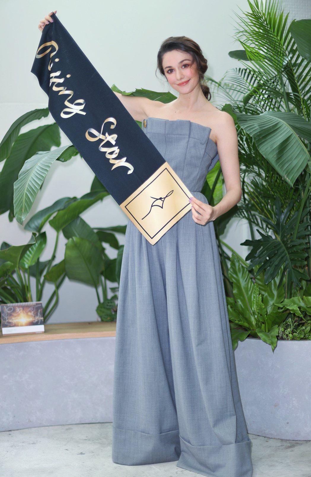 瑞莎將主辦台灣第一場韻律體操賽事「瑞星盃」。記者陳正興/攝影