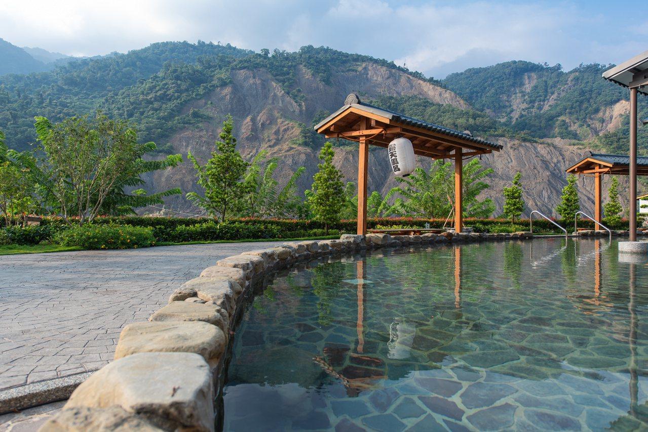 高雄六龜區寶來有不少旅宿,圖為山澤居。 圖/茂林國家風景區管理處