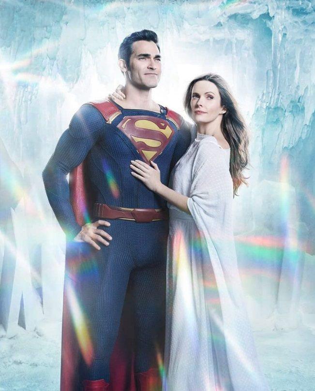 「超人與露易絲」是新的年度受到矚目的DC英雄新劇。圖/摘自imdb