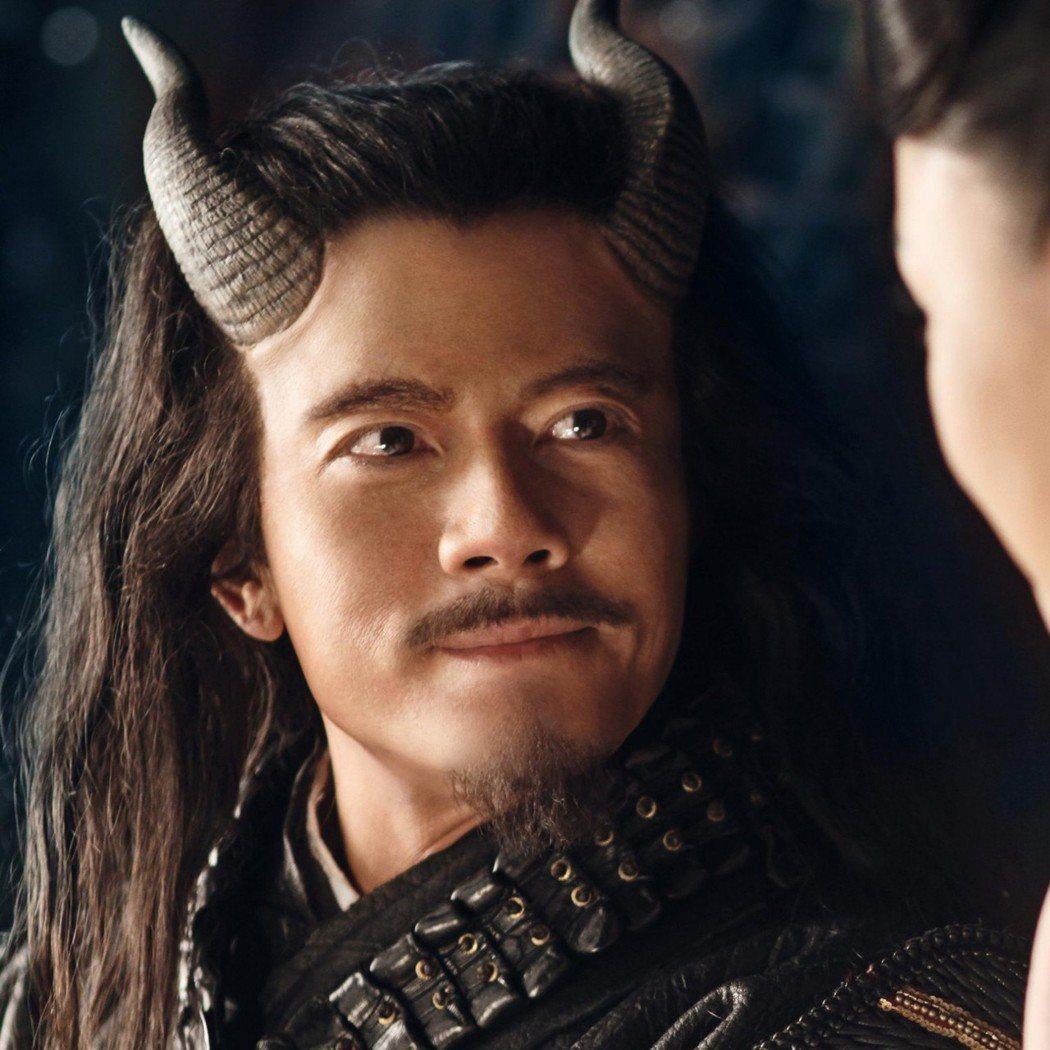 「西遊記之大鬧天宮」中的郭富城被稱為「最帥牛魔王」。圖/摘自imdb