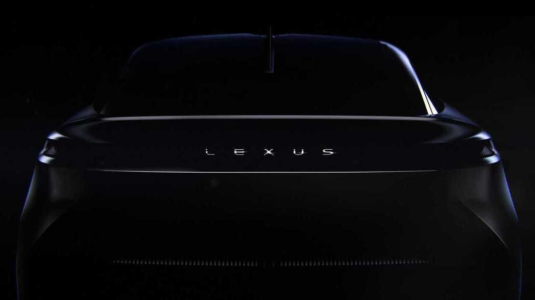 Lexus全新純電概念車預告發表。 摘自Lexus