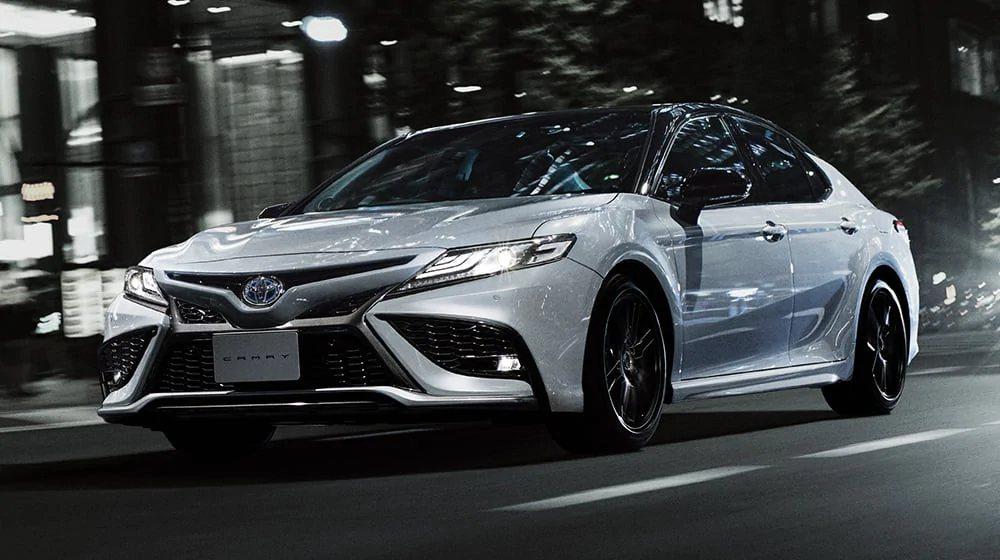 日規Toyota Camry小改款。 摘自Toyota.jp
