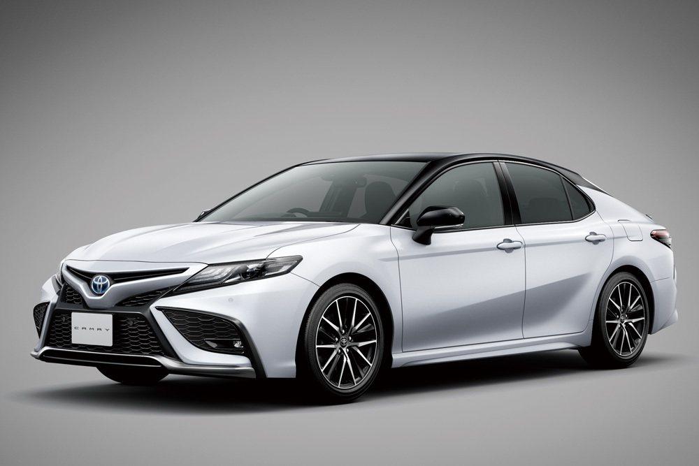 日規Toyota Camry WS車型外觀較運動化。 摘自Toyota.jp