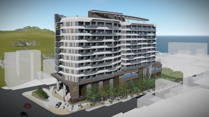 日月潭力麗溫德姆溫泉酒店3D示意圖。 業者/提供