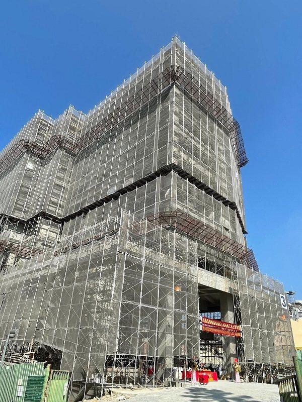 日月潭力麗溫德姆溫泉酒店預計2022年中完工。 業者/提供