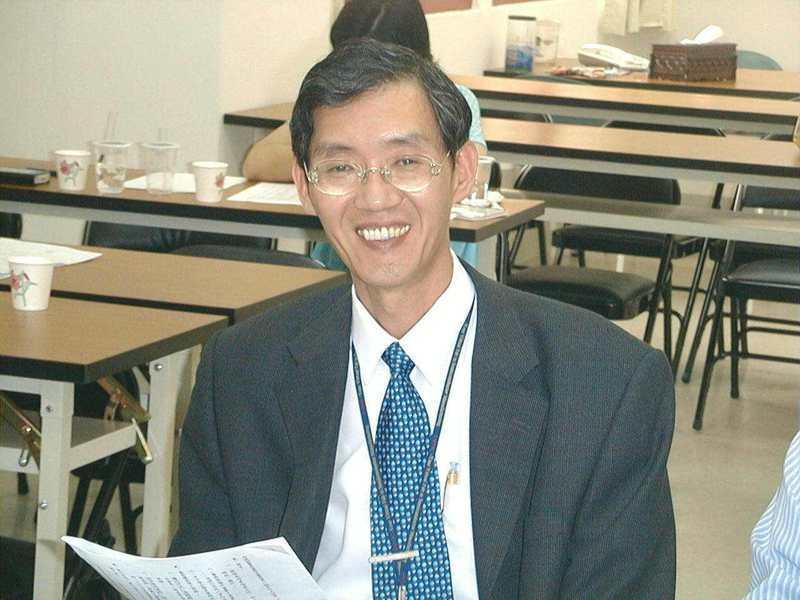 圖為劉啟光多年前任職台積電資料照。報系資料照
