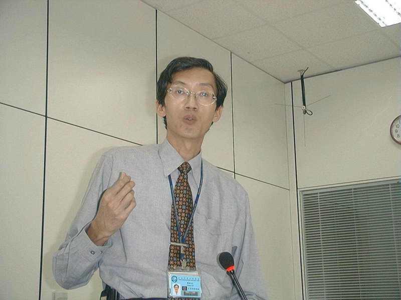圖為多年前劉啟光任職台積電資料照。報系資料照