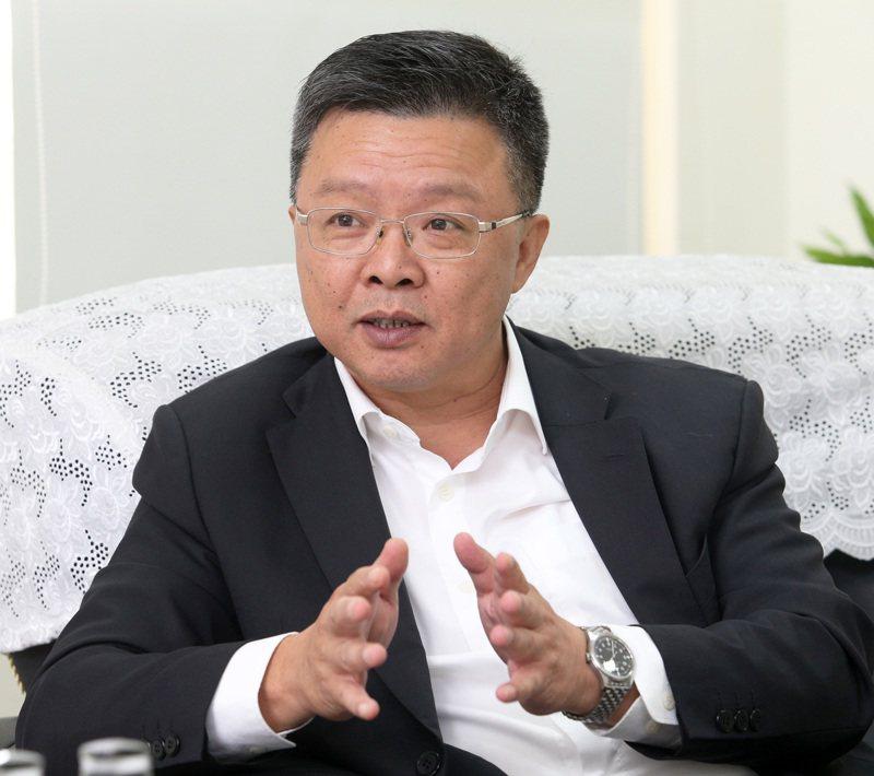 台鹽董事長陳啓昱昨天突然請辭,並指自己完成階段性任務。本報資料照片
