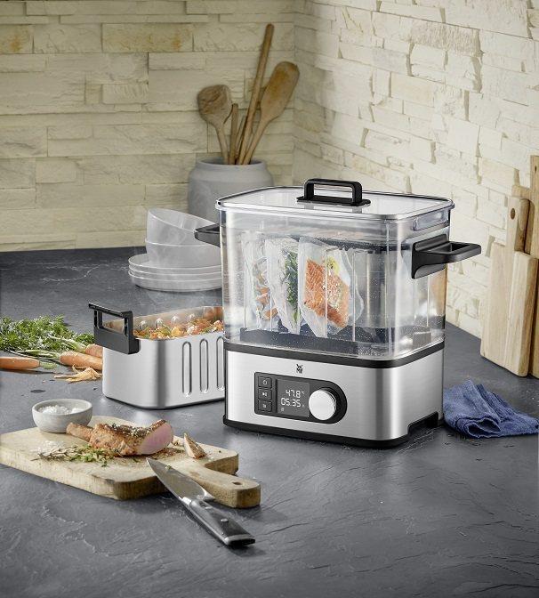 全聯首次推出二合一的Lono舒肥慢燉鍋Pro,使用低溫真空烹調法,可精準低溫舒肥...