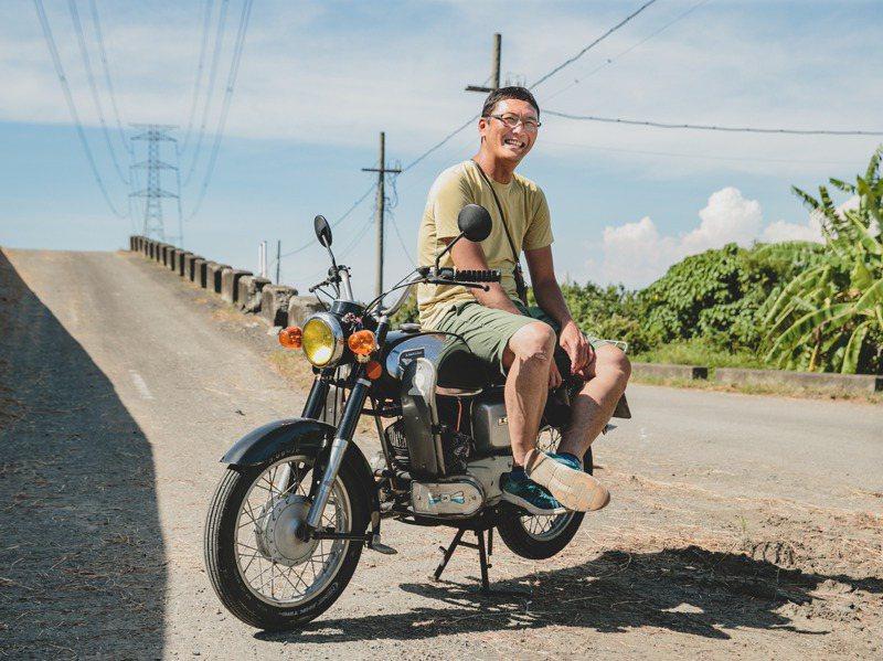 李翔在每天六十公里送信的過程記錄下對台南的觀察和單純的生活感。記者曾原信/攝影