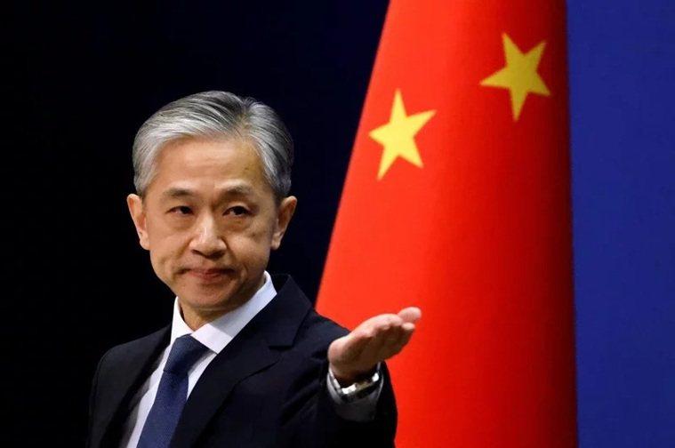 中國大陸外交部發言人汪文斌。 圖/路透社